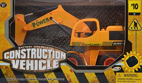 Dollar General remote control toy excavator