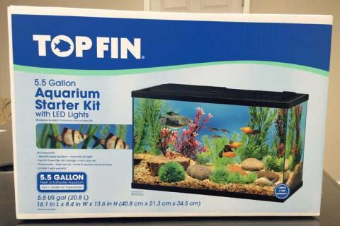 Top Fin™ 5.5 Gallon LED Aquarium Kit
