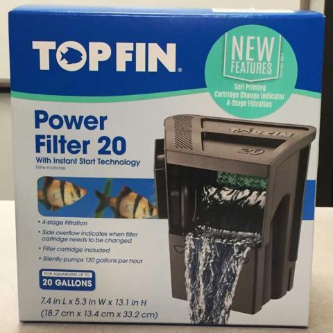 Top Fin™ Power Filter 20