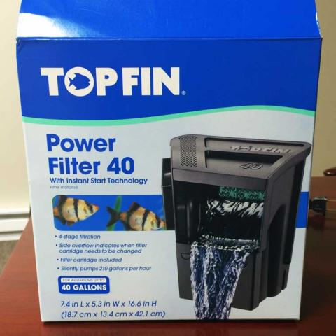 Top Fin™ Power Filter 40