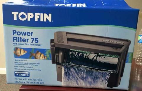 Top Fin™ Power Filter 75