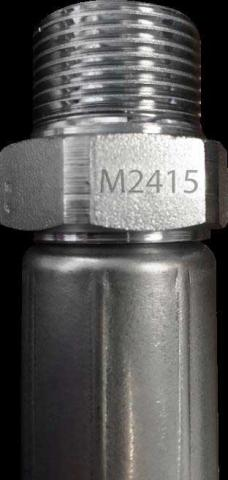Swivel fitting with date code