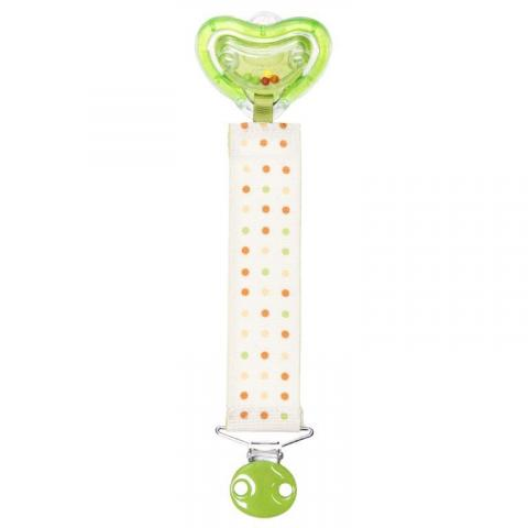 m rattle pacifier and clip