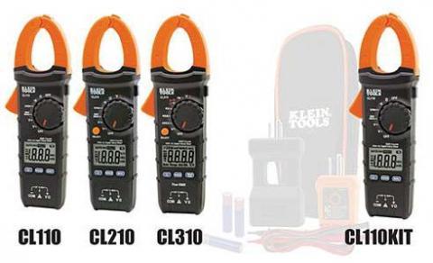 Recalled Klein Tools clamp meters