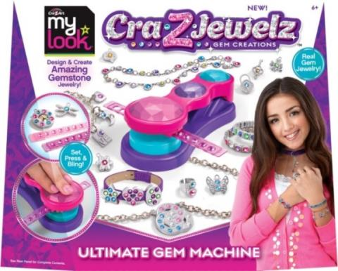 "Kit ""My Look Cra-Z-Art Cra-Z-Jewelz Gem Creations Ultimate Gem Machine"" (UPC #884920466340)"
