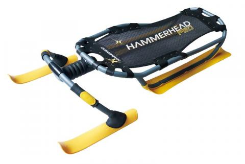 Yellow Hammer Head Sled