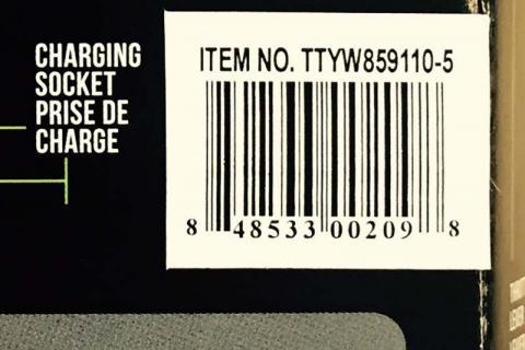 Aero item number location