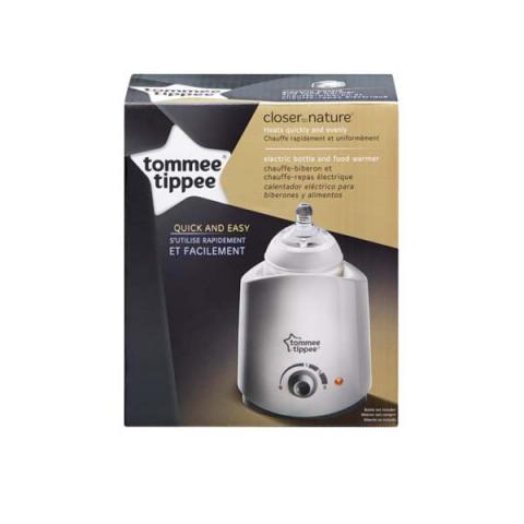 Recalled electric bottle and food warmer packaging