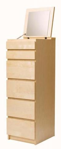 Recalled IKEA MALM 6-drawer dresser