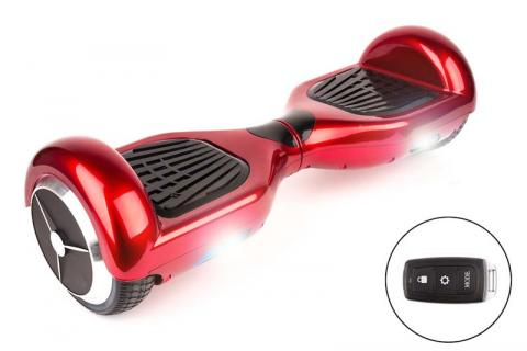 Recalled hoverboard with key fob