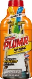 Liquid Plumr Pro-Strength Foaming Clog Fighter Clog Remover, formerly sold as Slow Flow Fighter - UPC Code 44600-00214