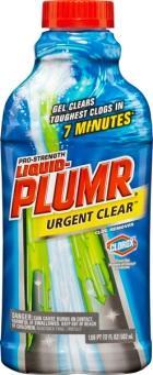Liquid Plumr Pro-Strength Urgent Clear Clog Remover - UPC Code 44600-30548