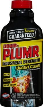 Liquid Plumr Industrial Strength Urgent Clear Clog Remover - UPC Code 44600-31484