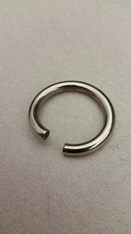 Broken metal ring from BYA Sports hammock