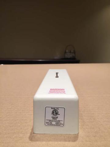 Porta Inc. box containing molded plastic EMDL keeper
