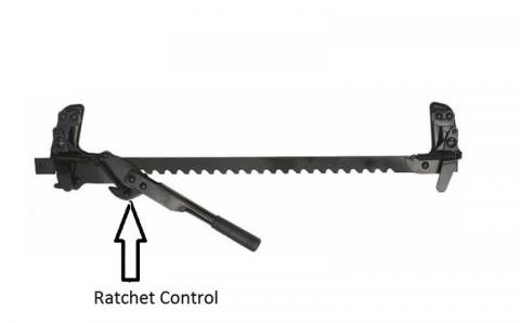 Recalled SpeeCo fence wire stretcher with ratchet control