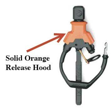 Liquid Force solid orange release hood