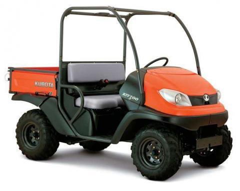 Kubota Recalls Utility Vehicles Due to Injury and Collision Hazards