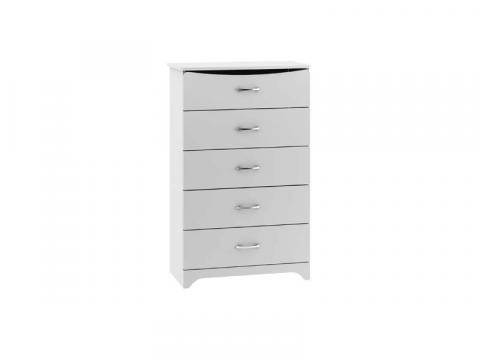 White Bestar Dream Dresser