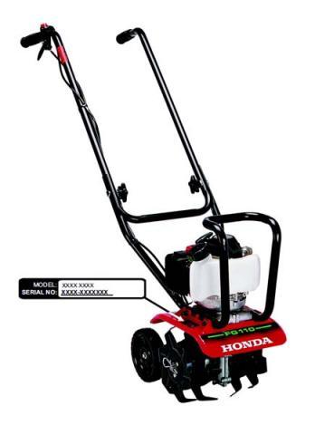 Honda FG110K1AT Mini-Tiller