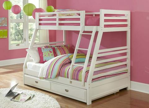 Chadwick Bunk Bed In White Model 1030