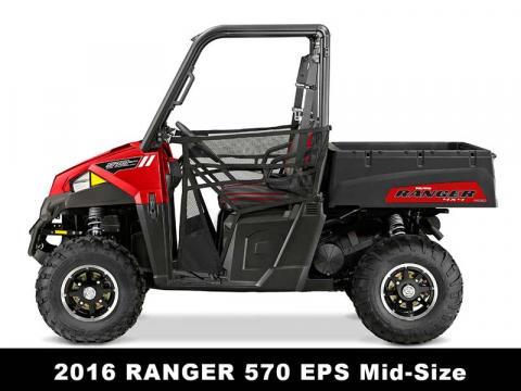 Recalled Polaris 2016 Ranger 570 EPS ROV