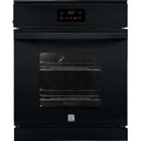 Kenmore wall oven (black)