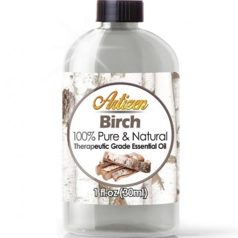 Recalled 1-ounce bottle of recalled Birch essential oil