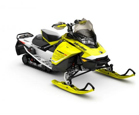 Recalled 2017 MXZ X 850 E-TEC Yellow