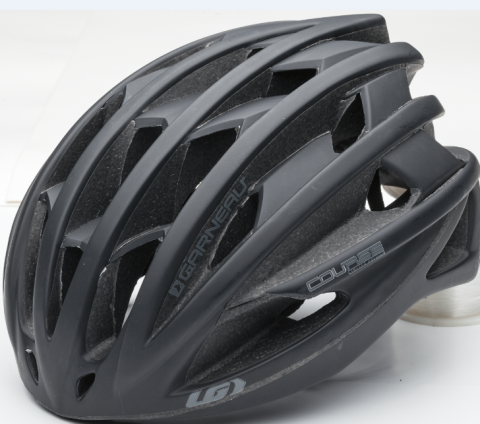Recalled Louis Garneau Course Helmet in matte black