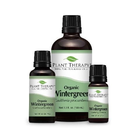 Recalled Organic Wintergreen – 10 mL; 30 mL; 100 mL