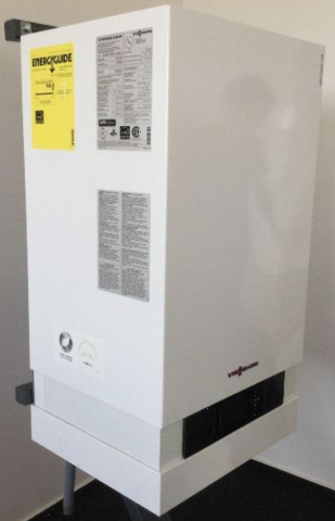 Recalled Viessmann Vitodens 200-W wall mount boiler