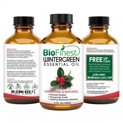 Recalled BioFinest Wintergreen Essential Oil (100 mL)