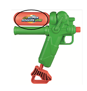 Hasbro Recalls Super Soaker XP 20 and XP 30 Water Blasters Due to Violation of Federal Lead Content Ban; Sold Exclusively at Target