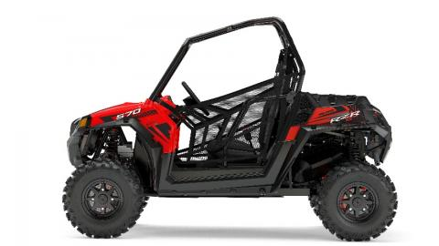 2017 RZR 570 EPS - Red