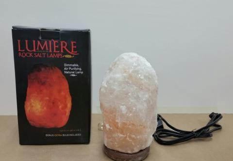 Michaels Recalls Rock Salt Lamps Due To Shock And Fire