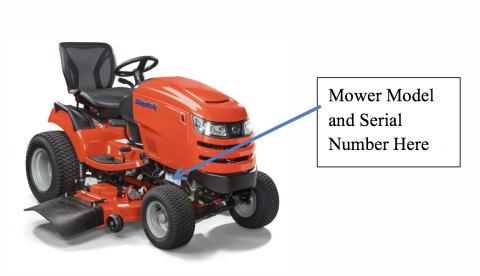 Simplicity Brand Riding Lawn Mower