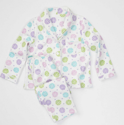Recalled snowflake pajama set