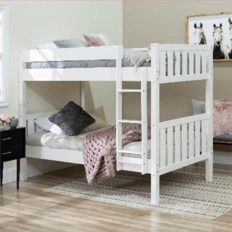Recalled Walker Edison Twin Cottage bunk bed