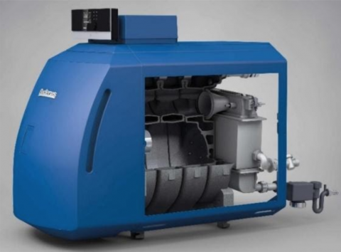 Recalled Buderus GB125-35 oil condensing boiler