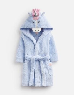 Z_ODRUNICRN-SKYBUNI Light blue unicorn robe  100% polyester 1 through 12