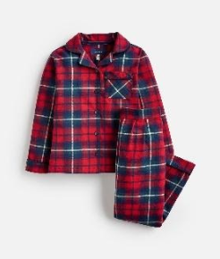 205707-REDCHK Red check pajama  100 % cotton 1 through 12