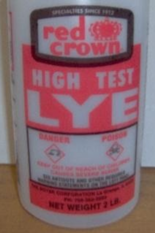 Recalled Red Crown High Test Lye