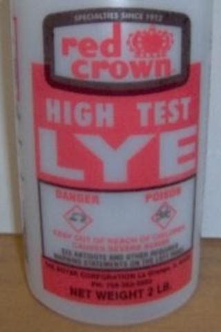 Recalled Red Crown High Test Lye