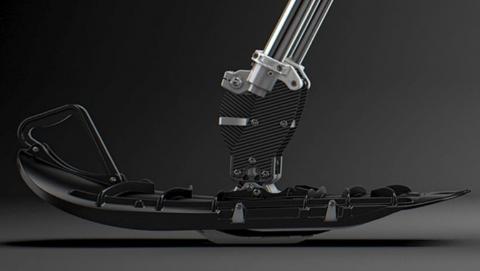Recalled Yeti SnowMX front wheel ski conversion.