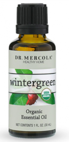 Recalled bottle of wintergreen oil