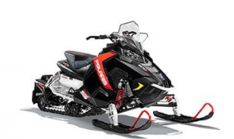 Recalled Polaris 2015 RUSH snowmobile