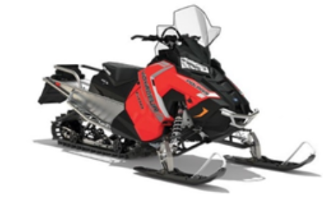 Recalled Polaris 2018 VOYAGEUR snowmobile