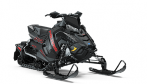 Recalled Polaris 2020 RUSH snowmobile