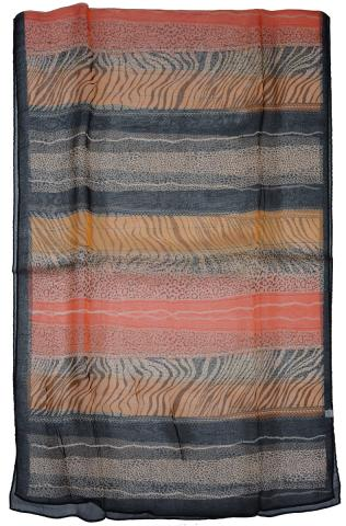 Stripe women's scarf